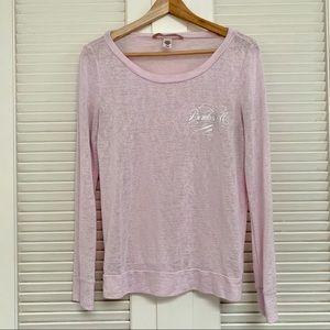 Victoria's Secret light pink bombshell long sleeve